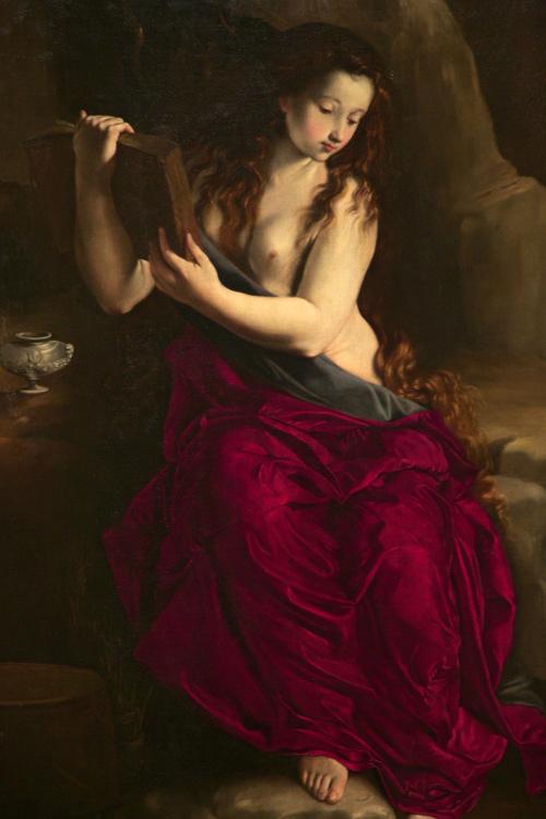 Juan Bautista Maino (attr.) - La Magdalena penitente (ca. 1615), Private Collection