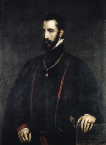 Figure 3 - The Duke of Alba in Black